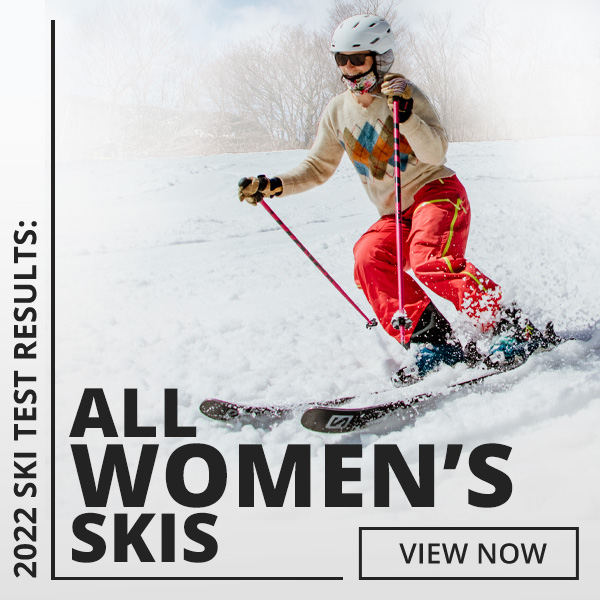 Browse 2022 Ski Test by Category: Women's