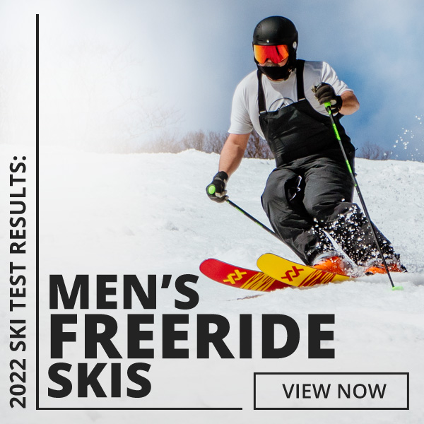 Browse 2022 Ski Test by Category: Men's Freeride