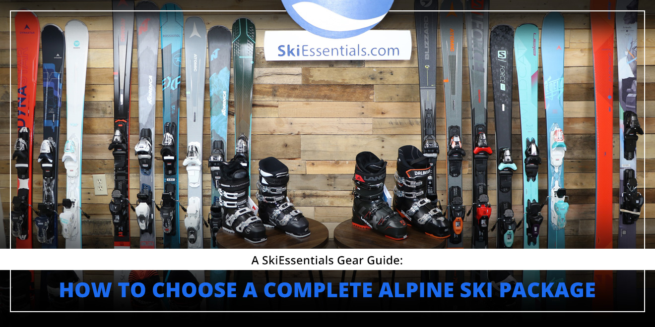 How to Choose A Complete Alpine Ski Package: Lead Image