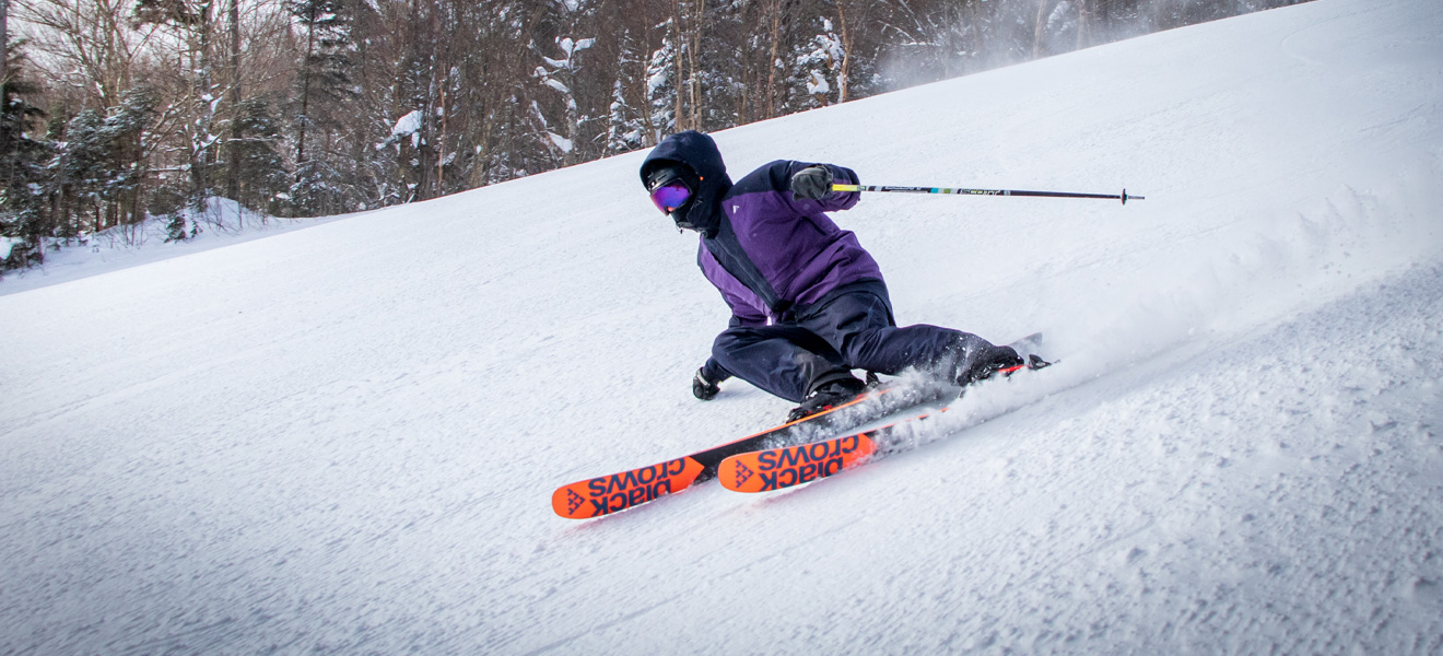 2022 Black Crows Serpo Ski Review: Full Width Action Image 1