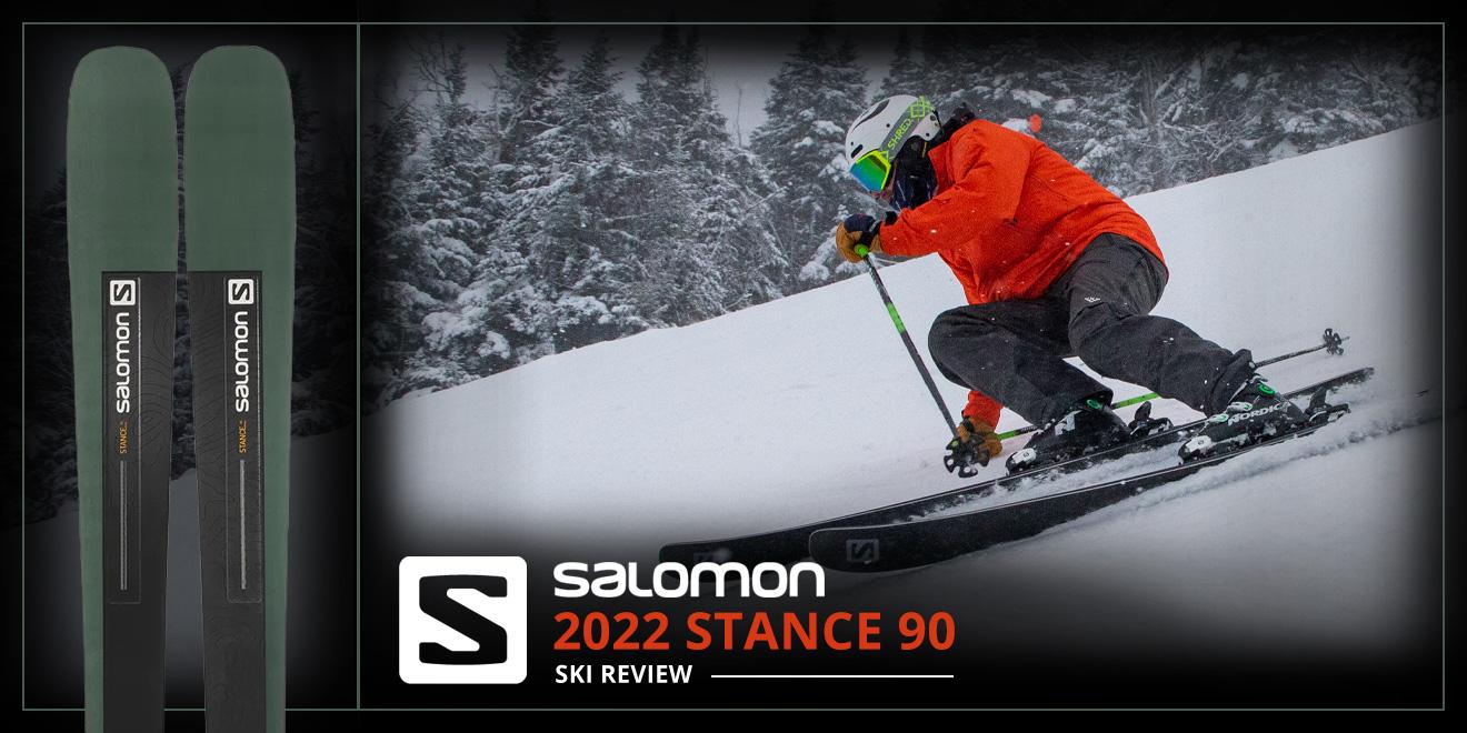 2022 Salomon Stance 90 Ski Review: Lead Image